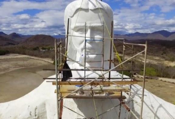 <center>Avanzan trabajos de restauración del Cristo de la Mesa 2017</center>