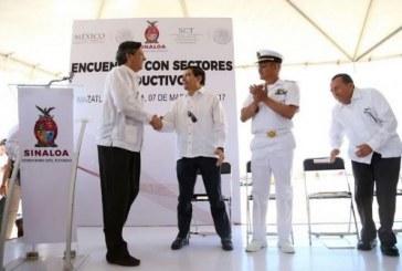 Dragado y modernización del puerto de Mazatlán