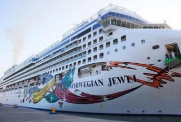 Arribó el crucero Norwegian Jewel