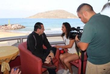 <center>Periodistas de Durango hacen viaje de familiarización a Mazatlán</centyer>