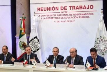Sinaloa participa en reunión de Conago y SEP