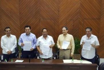 Firman Convenio Secretaria de Economía y Ayuntamiento de Mazatlán