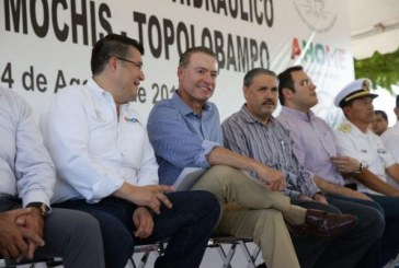 Inicia Quirino Ordaz la reconstrucción de la carretera Los Mochis-Topolobampo