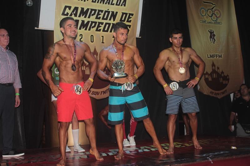 Mr. Sinaloa Campeón de Campeones 2017