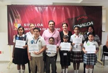 <center>Premian en Mazatlán a los niños ganadores del 14vo. Concurso de Cultura Turística 2017</center>