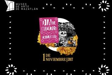 Invita el Museo de Arte de Mazatlán a las Actividades del Día de Muertos
