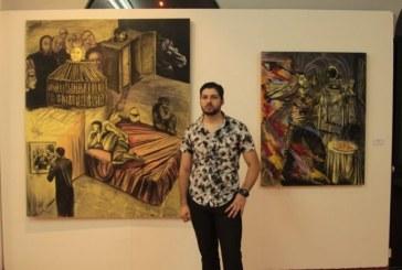 Expone Arnaldo Coen en el Museo  de Arte