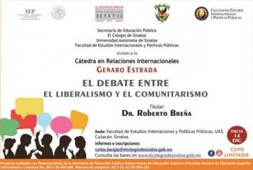 Roberto Breña impartirá cátedra