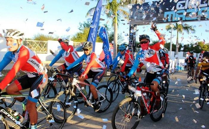 <center>Mazatlán se tapiza de Ciclistas con el Ciclotur 2017</center>