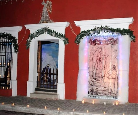 Fiesta de las Velas Cosalá Pueblo Mágico 2017