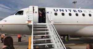 United Airlines Vuelo Inaugural Houstón Mazatlán Inauguración Avión 2017