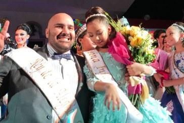 <center>Gretel es la Reina Infantil y Tulio es el Rey de la Alegría del Carnaval de Mazatlán 2018</center>