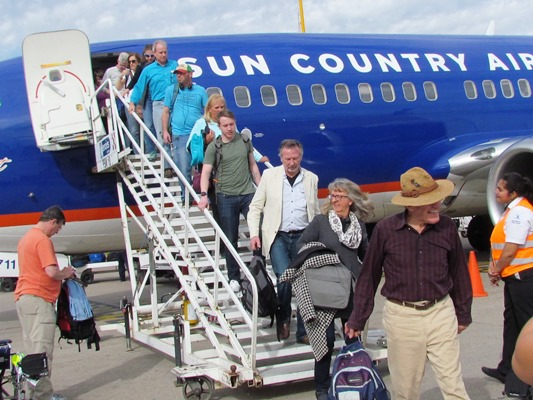 Sun Countyr Airlines Vuelo Denver 2018