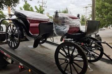 """<center>Sobre el Proyecto: Carrozas de Época"""" para el Centro Histórico de Mazatlán</center>"""
