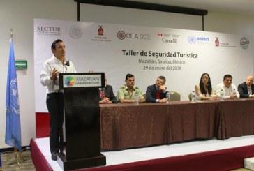 <center>Concluye exitosamente elTaller de Seguridad Turística en Mazatlán</center>