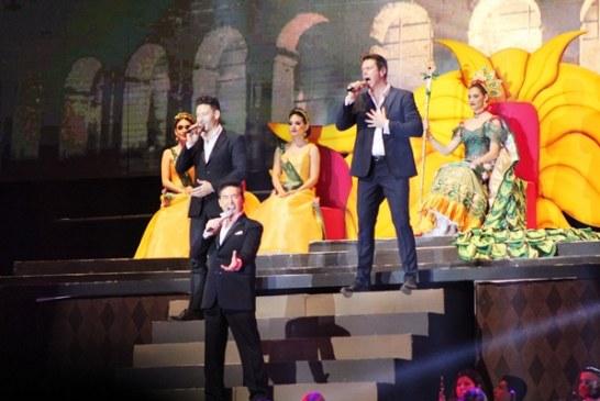 <center>Il Divo Cautiva a Mazatlán en la Coronación de Sofía I<center>