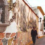 <center>El Mural de la Calle Gral. Damy en la Ciudad de Plata en la Zona Trópico de Sinaloa</center>