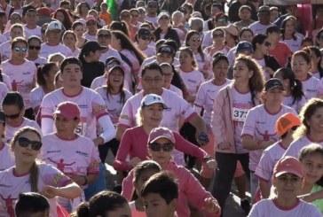 Pintan de rosa el Malecón