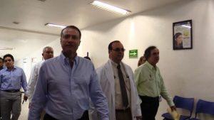 Anuncia Quirino Ordaz Nuevo Hospital General de Culiacán 2018