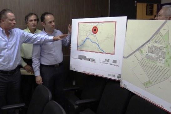 <center>Anuncia Quirino construcción de un nuevo y moderno Hospital General de Culiacán</center>