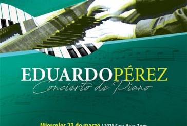 Eduardo Pérez en concierto