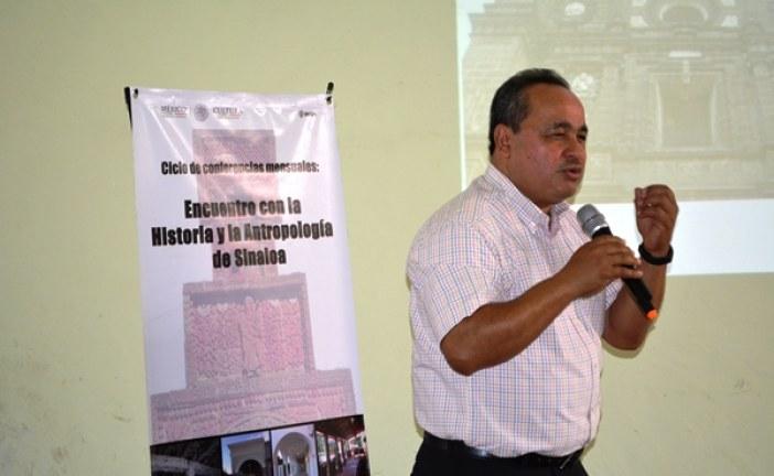"""<center>Continúa INAH Sinaloa el Ciclo de conferencias mensuales: """"Encuentro con la Historia y Antropología de Sinaloa""""</center>"""