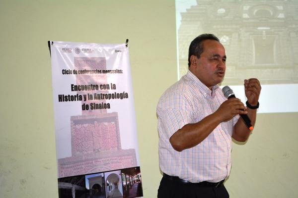 INAH Sinaloa Ciclo de Conferencias 2018 Dr. Martín Sandoval Bojórquez