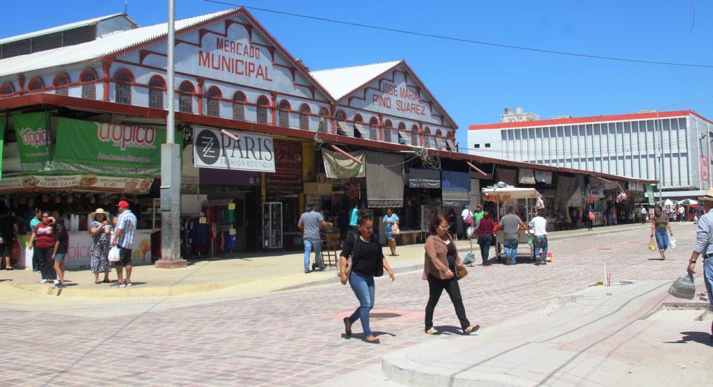 Mercado Municipal Pino Suárez Mazatlán Avance Obras Marzo de 2018