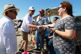 <center>En Bellavista Inicia recorrido de Playas de Sinaloa el Gobernador Quirino Ordaz</center>