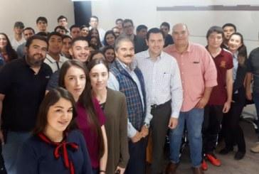 <center>Visitan estudiantes de UAO Delegación Sinaloa de Economía</center>