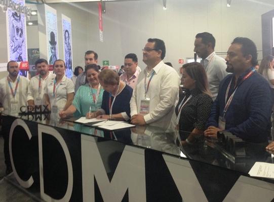 CDMX Covenio Caribe Tianguis Turístico Mazatlán 2018