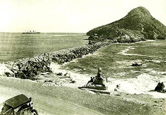 Faro Mazatlán Foto Antigua