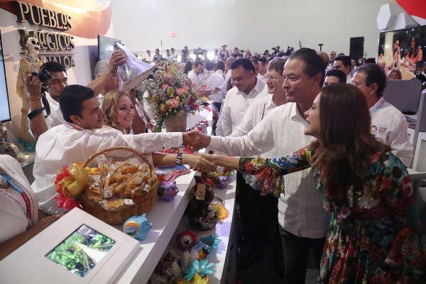 Inauguración Zona de Stands Tianguis Turístico de México 2018 MIC