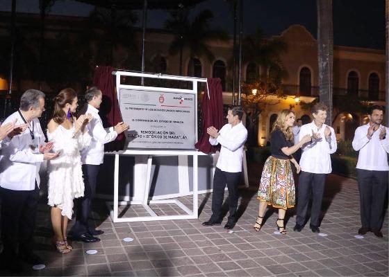 Inauguran Obras de Remodelación de Mazatlán Tianguis Turístico de México 2018 Qurino Ordaz