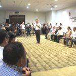 <center>Gobernador reconoce trabajo hecho para la realización del Tianguis Turístico</center>