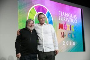 Steve Wozniak en Mazatlán 2018