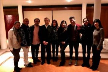 Mazatlecos fueron recibidos porla Embajada de México en Japón