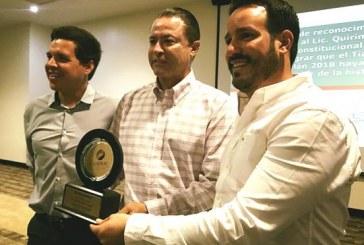 <center>Canirac Mazatlán reconoce a Gobierno del Estado por éxito del Tianguis Turístico de México 2018</center>
