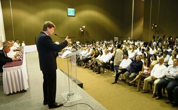 Enrique de la Madri Conéctate al Turismo Presentación Oficial