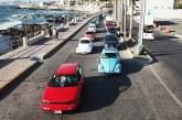 <center>Caravana Vochera Invade el Malecón de Mazatlán</center>