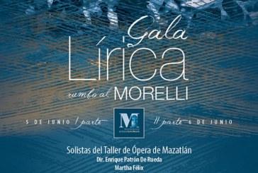 """Gala lírica rumbo al Morelli"""