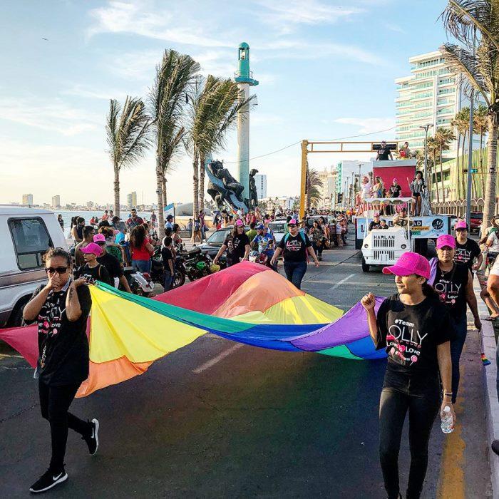 Marcha Gay Mazatlán 2018