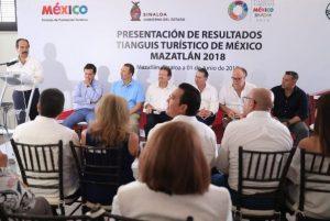 Reconocen Que el Tianguis Turìstico de Mèxico fue el Mejor en Mazatlàn 2018