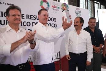 <center>Reconoce CPTM en Mazatlán: que el Tianguis Turìstico 2018 fue el Mejor de la Historia</center>