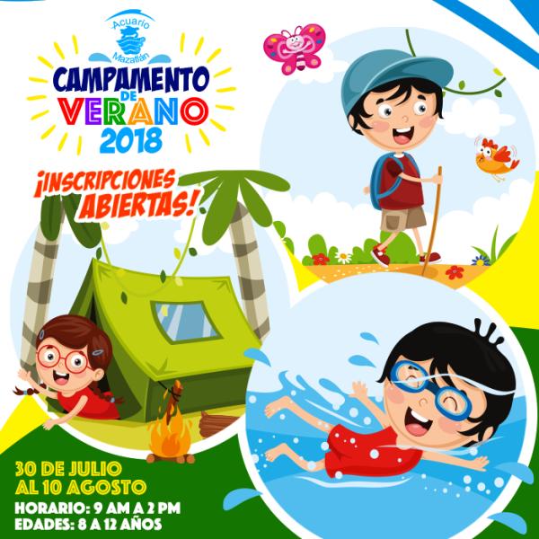 Campamento de Verano Acuario Mazatlán 2018Campamento de Verano Acuario Mazatlán 2018