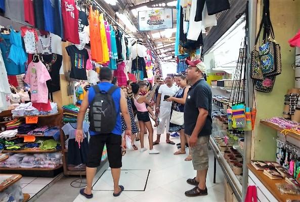 Mercado Municipal Pino Suárez Mazatlán Zona Trópico Verano 2018 Turistas 4