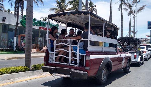 Transprote Pùblico Mazatlán 2018 Verano