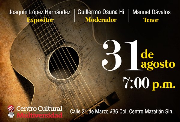 Gala-literaria Amado Nervo Mazatlán 2018 Invitación