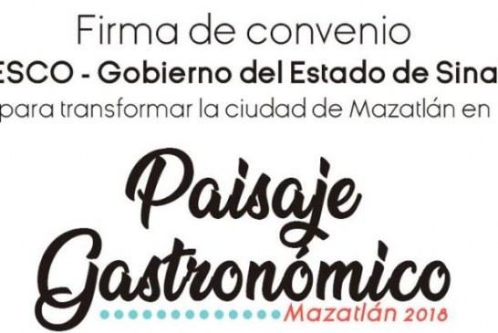 <center>Mazatlán a: Paisajes Turísticos Gastronómicos de la Unesco</center>