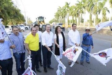 Inicia  ampliación de la carretera Guasave-Las Glorias
